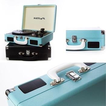 Tocadiscos Kelyx Kldp01 Vintage Retro Bluetooth