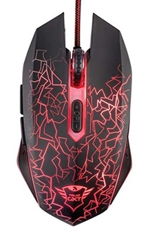 Mouse TRUST Gxt 105 Izza Gaming 2400dpi Rgb