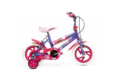 Bicicleta Halley Asterix Rodado 12 Bmx Nena 19020