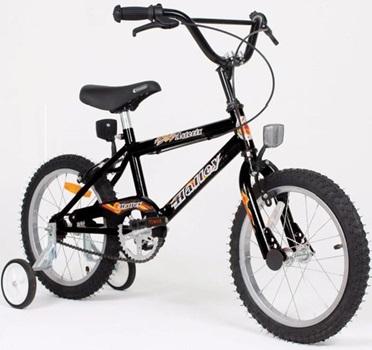 Bicicleta Halley Asterix Rodado 16 Cross Varon 190