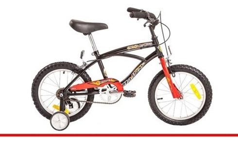Bicicleta Halley Baywatch Rodado 16 Playera Varon