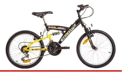 Bicicleta Halley Rodado 20 Full Suspenpension 18v