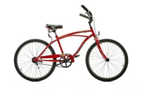 Bicicleta Halley Kruiser Rodado 24 Playera Varon 1