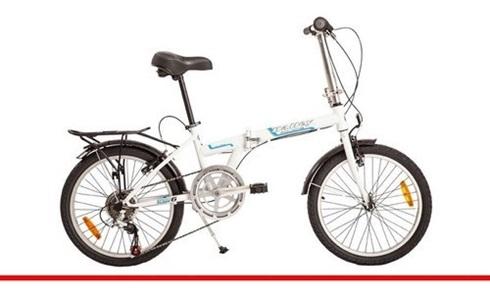 Bicicleta Halley Plegable Rodado 20 Acero Unisex