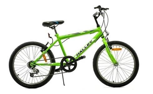 Bicicleta Halley Mtb 19070 Rodado 20 3 V