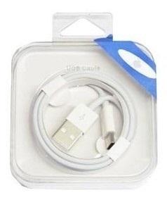 Cable Usb A Lightning 8 Pines En Caja 1m