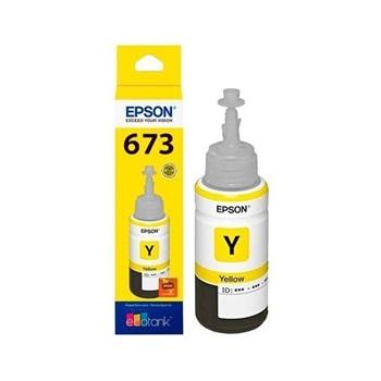 Tinta Epson 673 Amarillo Original 70 Ml