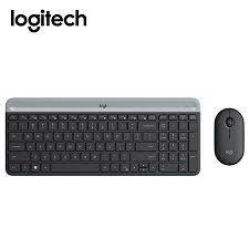 Teclado Y Mouse Logitech Combo Wireless Mk470 Slim