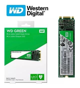 Disco Ssd Western Digital M 2 480gb Green Sata