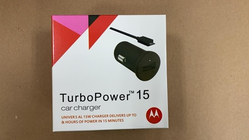Cargador Original De Auto Motorola Fast Charge 15w