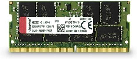 Memoria Pc Kingston Ddr4 16gb 2400mhz Kvr24s17d8/1