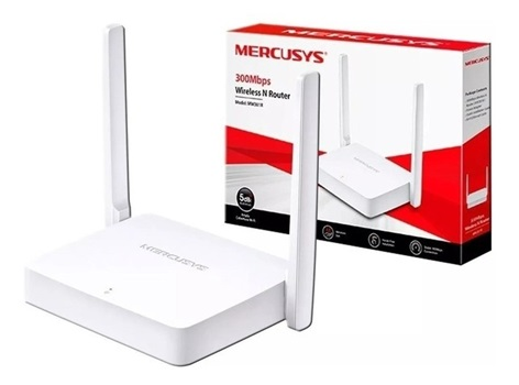 Router Mercusys Mw301r Inalambrico 300mbps 2ant