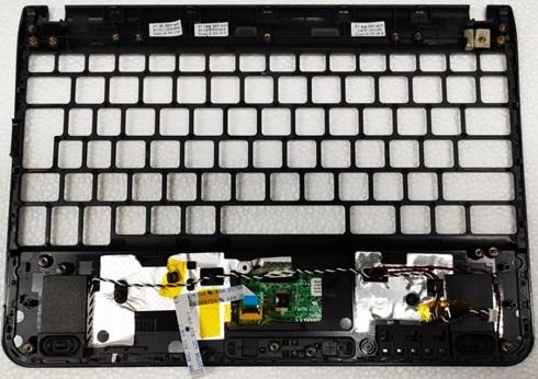 Palmrest Y Touchpad Samsung N210
