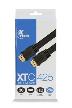 Cable Plano Hdmi a Hdmi Xtech Xtc-425 7 2m
