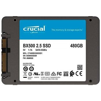 Disco Ssd Crucial 480gb Bx500 2 5 Sata 6gb/S