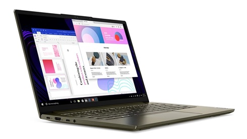Notebook Lenovo Yoga Slim 14 I7 8gb 512 W10