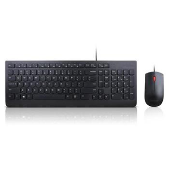 Teclado Y Mouse Lenovo 4x30l79883 - Alámbrico - Us