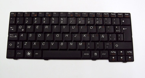 Teclado Lenovo Ideapad S10 Negro