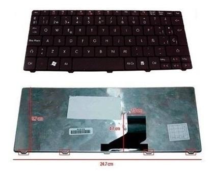 Teclado Acer Aspire One 531h Zg5 Kav10 Kav60 D255