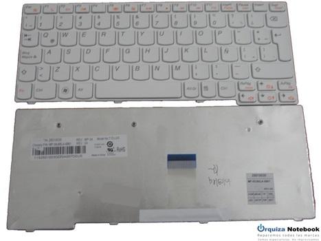 Teclado Lenovo S10-3 Blanco