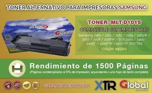 Toner Alternativo Samsung Mlt-D101s Xaa