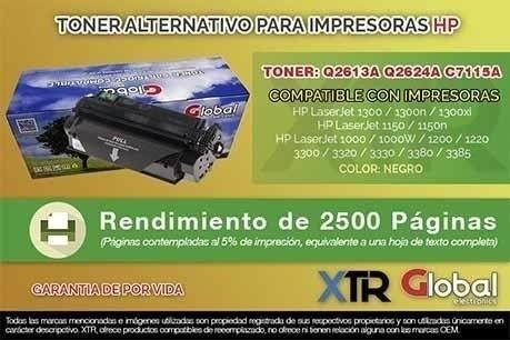 Toner Alternativo Hp Q2613a Q2624a C7115a