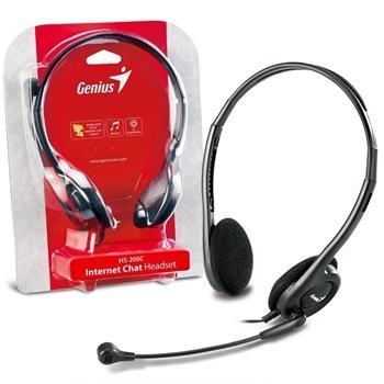 Auriculares Con Microfono Tipo Vincha Genius Hs-200c
