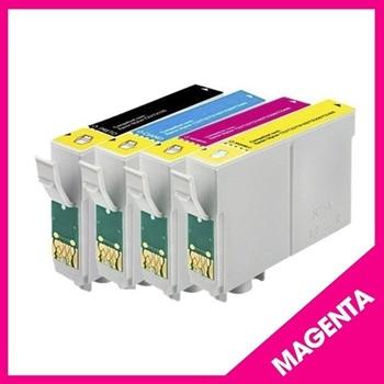 Cartucho Epson T133 T133320 Magenta 13 Mls Compatible