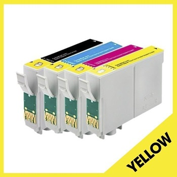 Cartucho Epson T133 T133420 Yellow 13 Mls Compatible