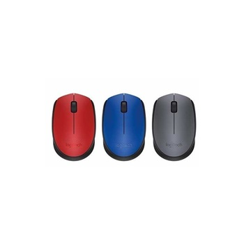 Mouse Inalambrico Logitech M170 Rojo