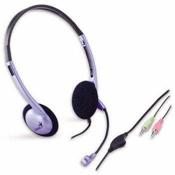 Auriculares Con Microfono Tipo Vincha Genius Hs-02