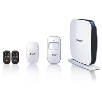 Kit De Alarma De Seguridad Inalambrica Gsm/Sms Imu