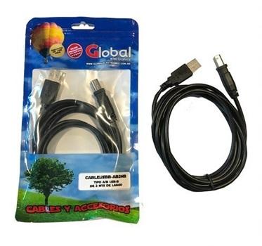 Cable Usb Para Impresora Tipo A/B Usb-B 5 Metros N