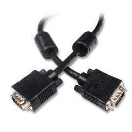 Cable Vga Con Filtro 5 Metros Global Color Negro