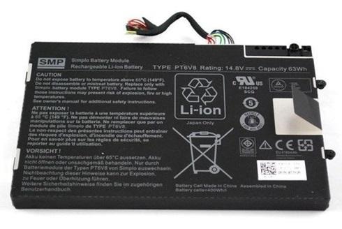 Bateria Dell Alienware M11x Pt6v8 8p6x6