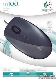 Mouse Usb Logitech M100 - Gris
