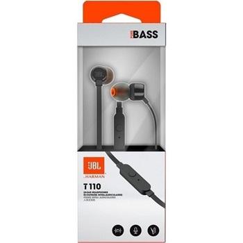 Auriculares JBL En- Ear T110 Azul / Blanco / Negro