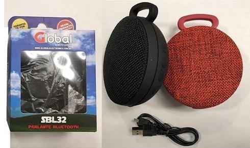 Parlante Global Electronics Bluetooth Premium Redo